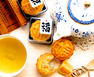 chef yip yun fatt's crispy custard mooncake ~ highly recommended 叶润发师傅的脆皮奶皇月饼 ~ 强推