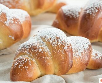 Brioches allo yogurt