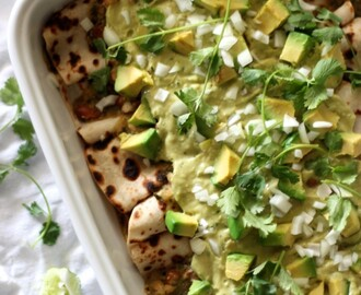 Easy Green Enchiladas