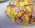 Corn Salad with Pastrami