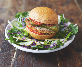 Recipe: Mega Veggie Burgers from Jamie Oliver's Everyday Super Food