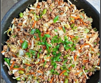 Pork Egg Roll Skillet