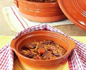Beef with Orzo Casserole (Giouvetsi)