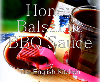 Honey and Balsamic BBQ Sauce
