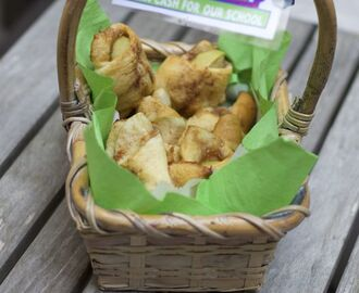 Caramel Apple Pie Bites & Box Tops for Education Basket