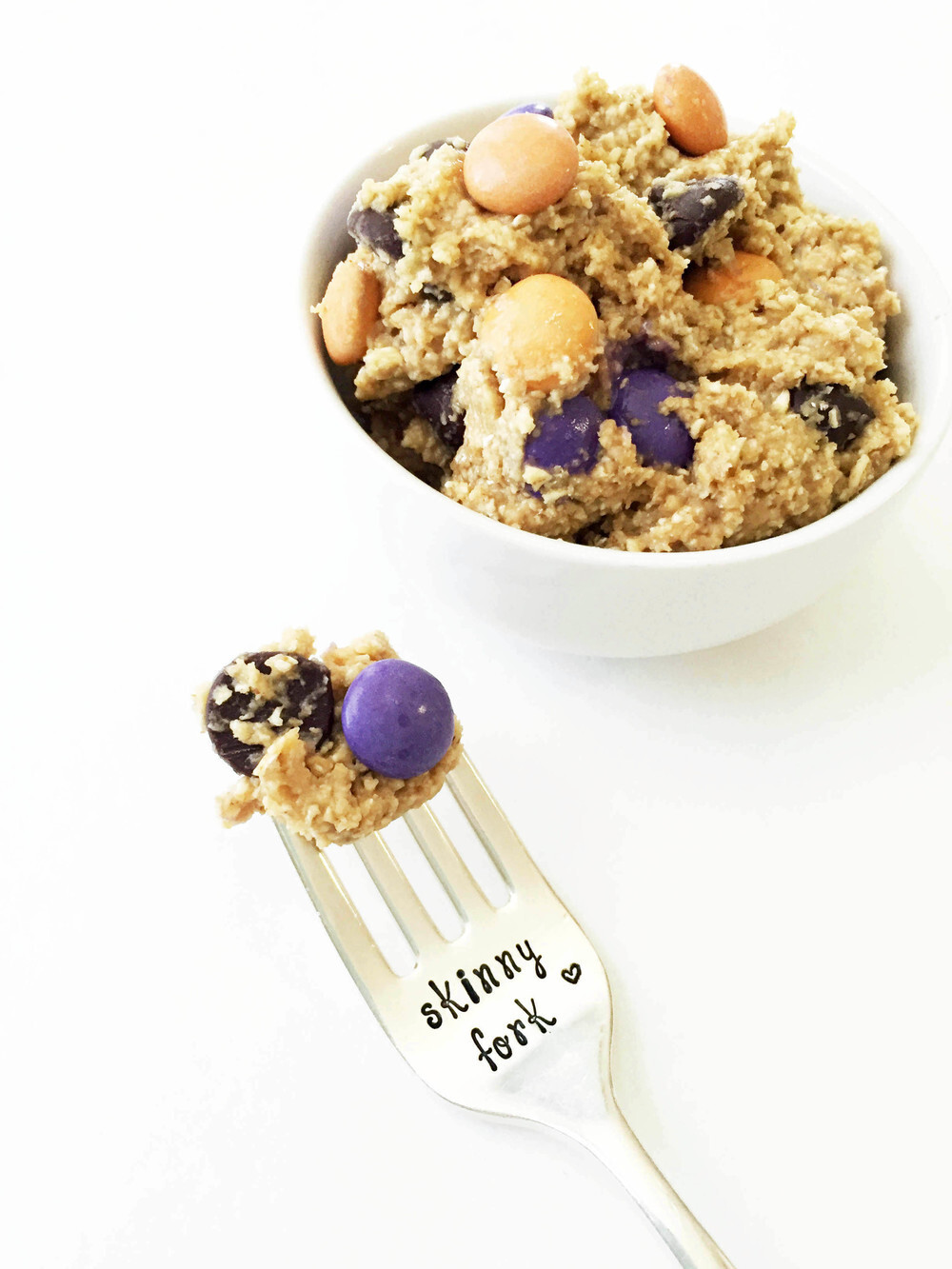 Skinny Edible Monster Cookie Dough