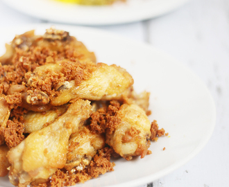Twice-cooked Chicken With Spiced Crunch / Ayam Goreng Kremes