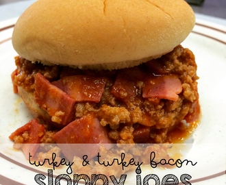 Quick, Easy and Delicious – A Kid Favorite That You'll Love Too!  Easy 20-Minute Turkey and Bacon Sloppy Joe's Recipe with Hidden Vegetables