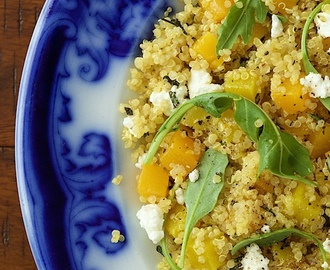 Golden Beet and Butternut Quinoa Salad