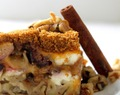 Honey Roasted Fig and Walnut Noodle Kugel