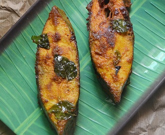 Meen Porichathu - Malabar Style Fish Fry
