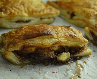 Banana Nutella Puffs