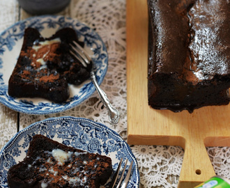 Sticky Gooey Mix-and-Bake Milo / Malted Chocolate Cake