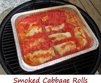Smoked Cabbage Rolls