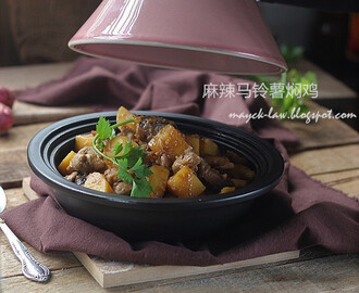 塔吉锅~麻辣马铃薯焖鸡 【Tagine ~ Stew Spicy Potato with Chicken】