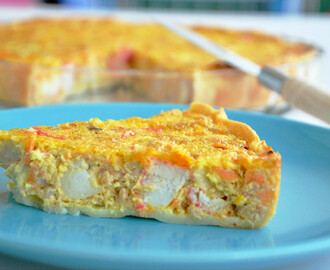 Quiche de Atum e Delicias Do Mar