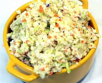 BETTER THAN KFC Cole Slaw - Kentucky Fried Chicken CopyCat Recipe - BBQ and Grilling Time Secret Extras Catering Side Dish Recipes