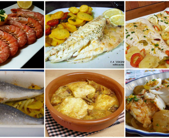 Recetas de como cocinar pescado al horno sin aceite mytaste for Cocinar wok sin aceite