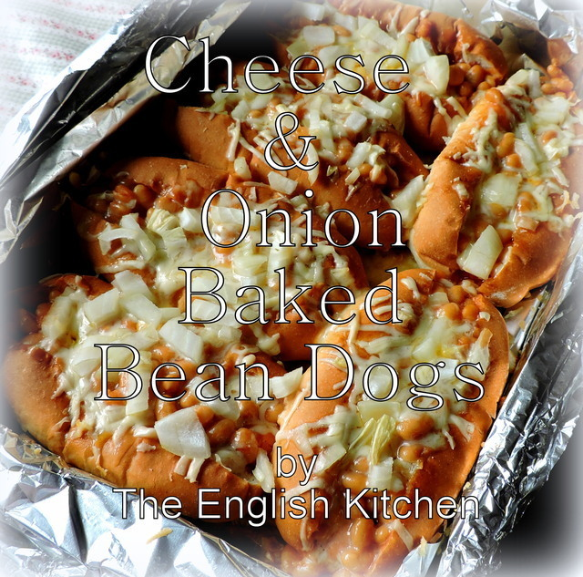 Cheese & Onion Baked Bean Dogs