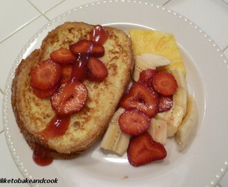 Stuffed French Toast for Brunch, Lunch or Dinner!