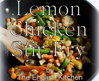 Cardamom and Lemon Chicken Stir Fry