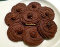 Kue Semprit Cokelat (Indonesian Chocolate Butter Cookies)