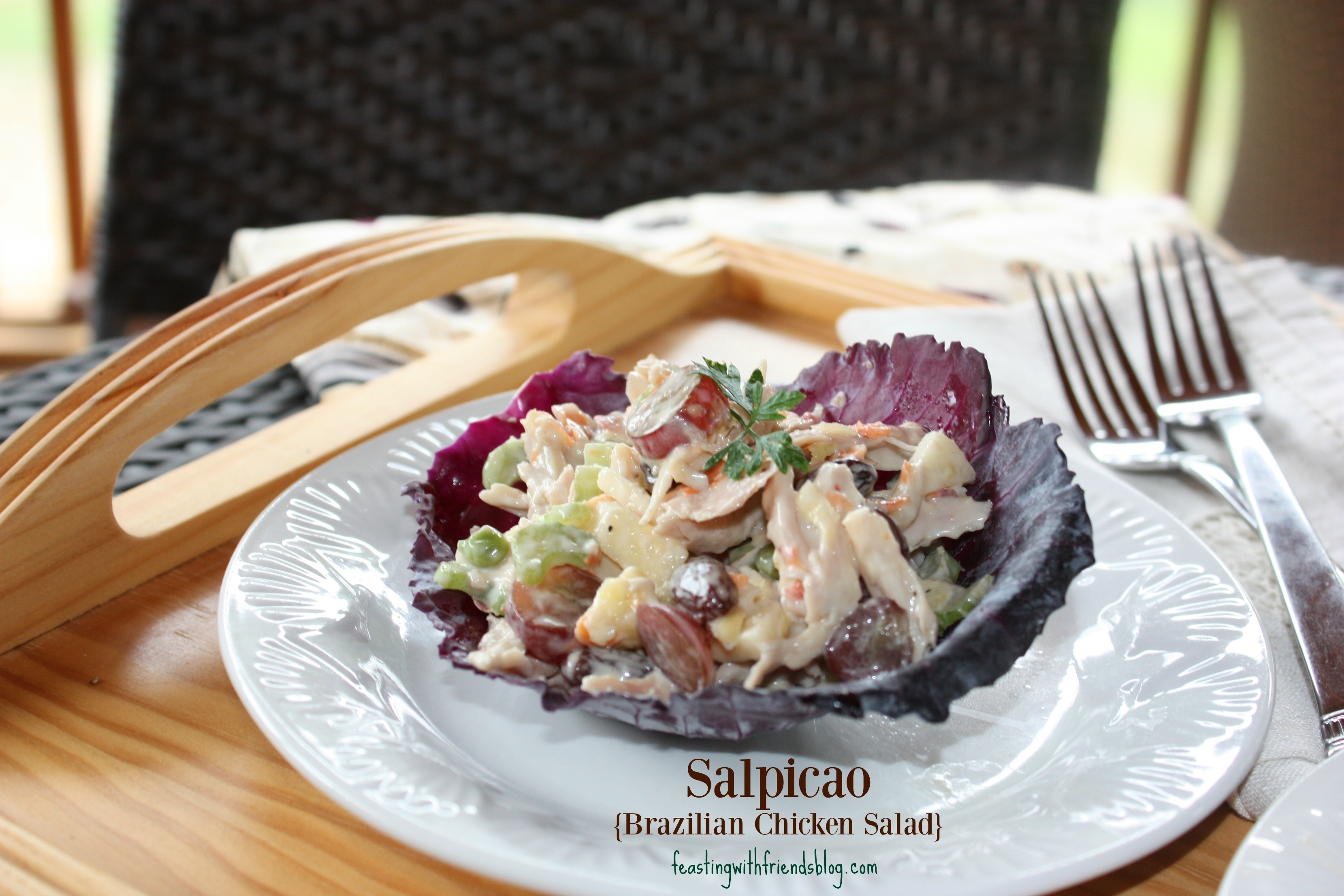 An Olympic Lunch: Salpicao {Brazilian Chicken Salad}