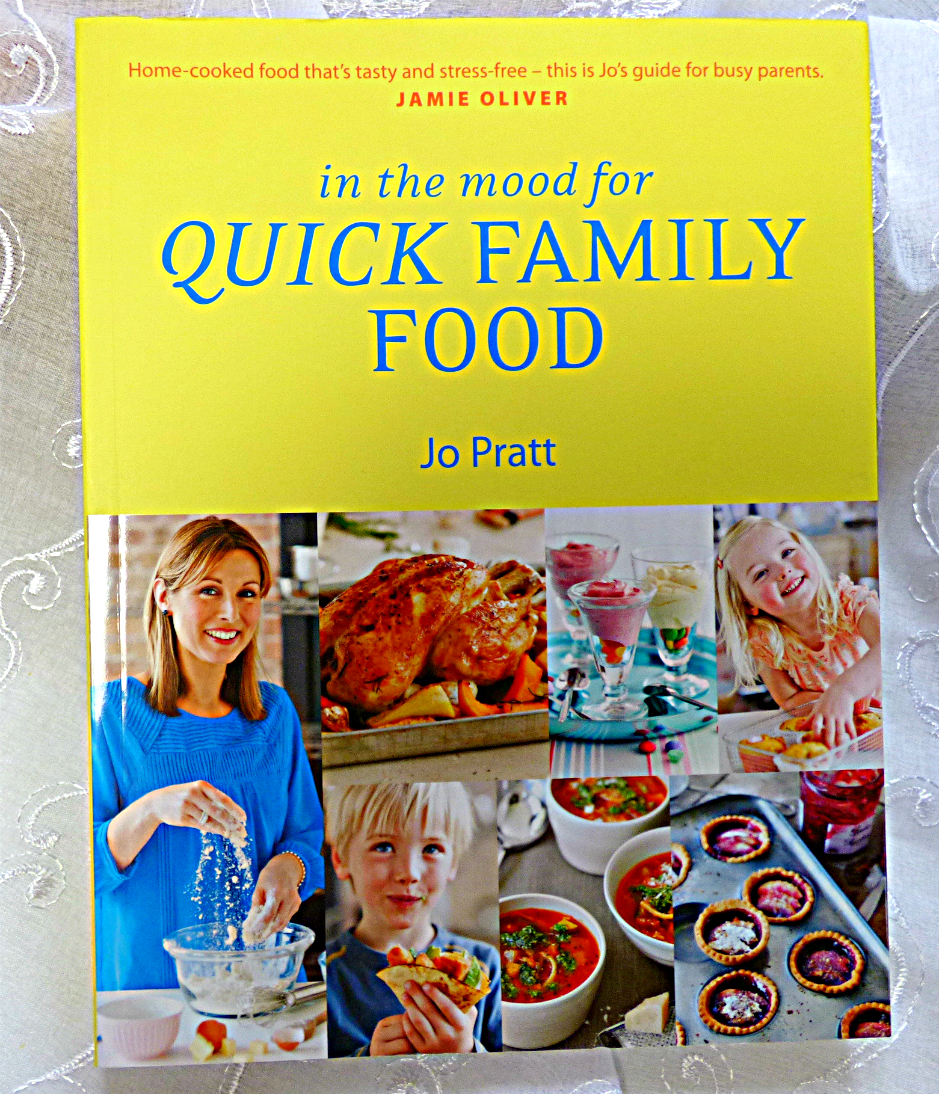 In The Mood For Quick Family Food by Jo Pratt (book review + carrot cupcakes)