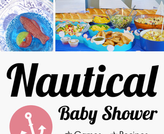 Heather & Ben's Nautical Baby Shower