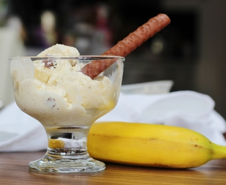 Banana Fudge Ice Cream
