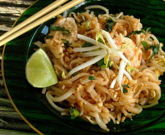 Pad Thai and a Special Thai Dinner