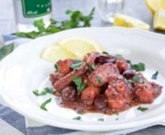 Greek Octopus with Ouzo, Fennel and Olives