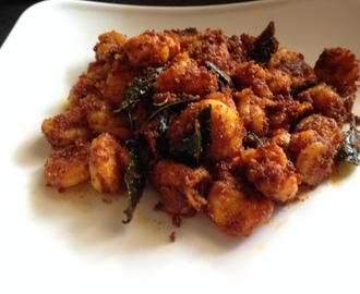 Prawn Fry Recipe, How To Make Prawn Fry