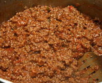 One of America's Favorites – Sloppy Joe