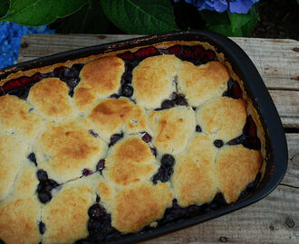 Old Fashioned Blueberry Cobbler