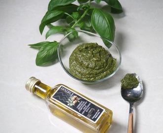 Basil Pesto with Truffle Oil Plus Other Uses of Truffle Oil