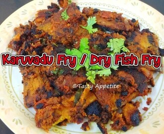 KARUVADU FRY / DRY FISH FRY - EASY VIDEO RECIPE
