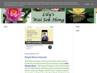 Lily's Wai Sek Hong Favorites