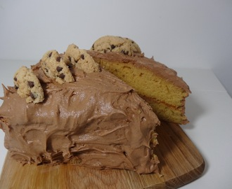 RECIPE: Gluten Free Chocolate Chip Cookie Sponge Cake