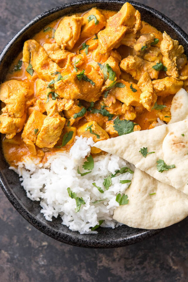 Slow Cooker Butter Chicken