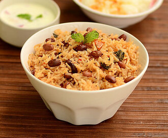 Rajma Biryani Recipe-Rajma Rice-Sunday Lunch Recipes Series 28