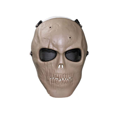 Airsoft Skull Mask M1 Coyote
