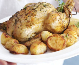How to Make Perfect Roasted Chicken Easy Recipe