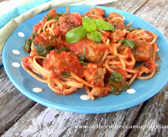 Family Movie Nights & Vege Spaghetti and Meatballs