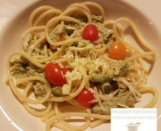 Pasta met broccoli pesto