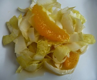 Salade vitaminée d'endives à l'orange
