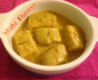 Shahi Paneer (Royal Cottage Cheese Curry)