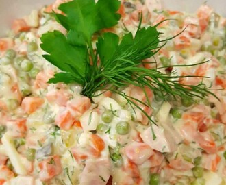 "russischer Salat ""Olivje"" – light"