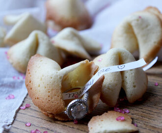 Biscuits chinois / Fortune cookies