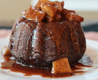 Apple Cider Bundt Cake w/ Carmelized Apples/#BundtBakers